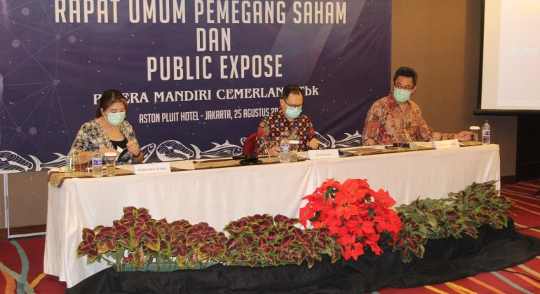 PT ERA MANDIRI CEMERLANG HELDING GMS AND PUBEX ON 25 AUGUST 2020